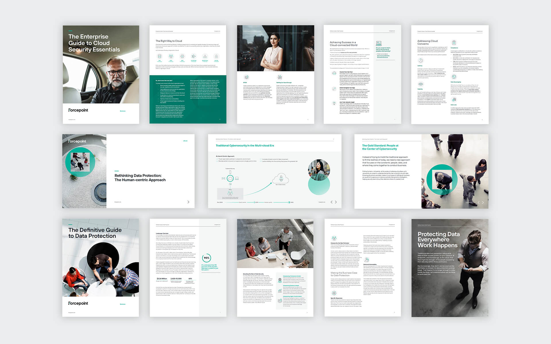 Forcepoint case study Mock up